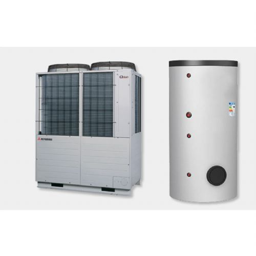 Mitsubishi Heavy Industries Air To Water Heat Pump Q-Ton ESA30E-25 30Kw/102000Btu R744 415V~50Hz